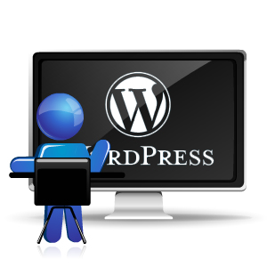 wordpress content