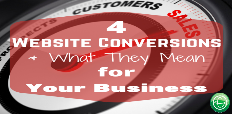 Website conversions and what they mean