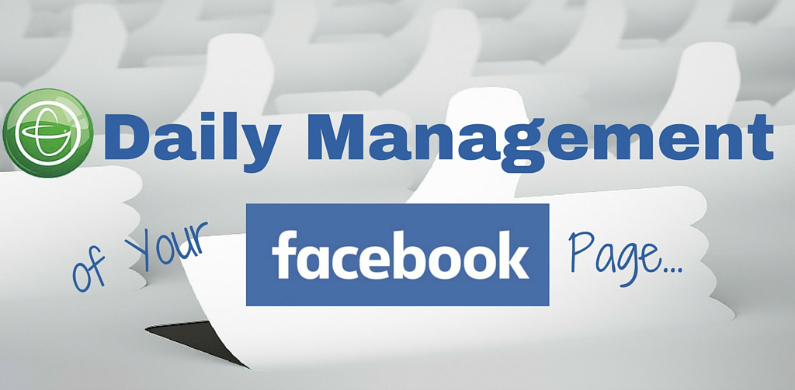 Daily Management of your FB page BL